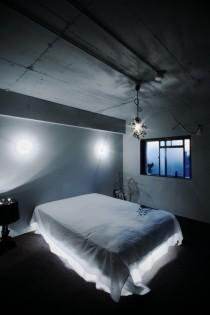 寝室、ベッドルーム、間接照明、リノベーション、9、ナイン