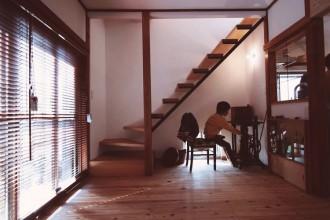 階段、オープン、照明、ライトアップ、戸建リノベーション、総合建築職人会