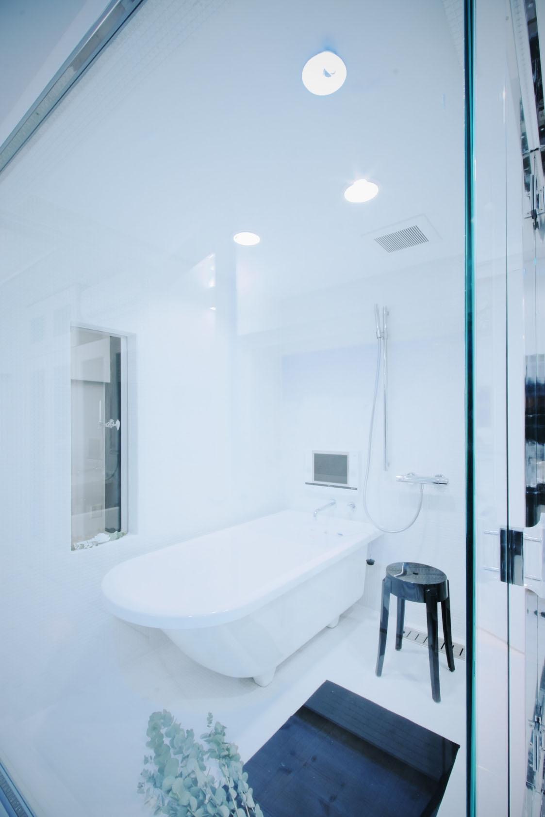 浴室、ガラス、バスタブ、リノベーション、9株式会社
