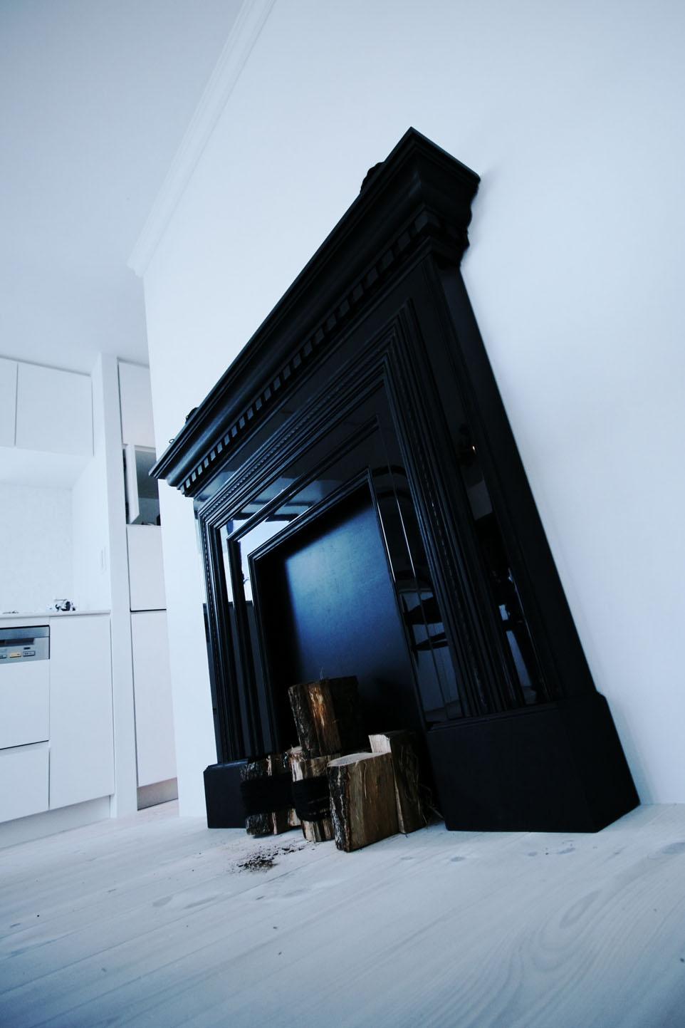 オブジェ、暖炉、ダイニング、家具、リノベーション、ナイン、