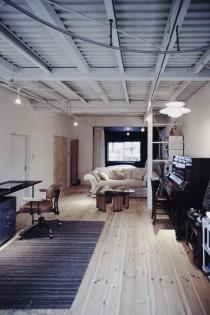 リビング、ソファー、ゾーニング、ワンルーム、戸建、リノベーション、9株式会社