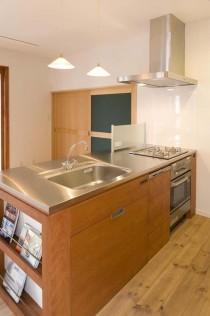 キッチン、収納、ビルトイン、造作、スタイル工房