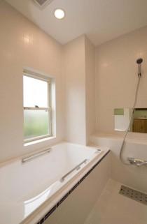 浴室、お風呂、バスルーム、在来工法、タイル、壁、スタイル工房