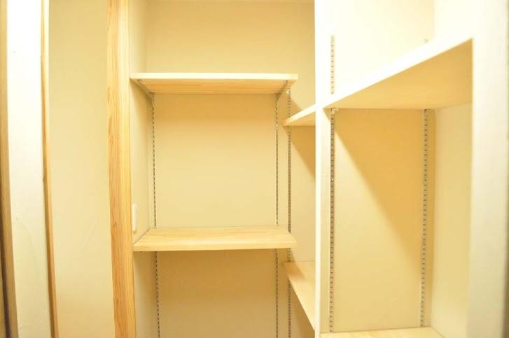 可動式、収納、棚、戸建、リノベーション、駿河屋
