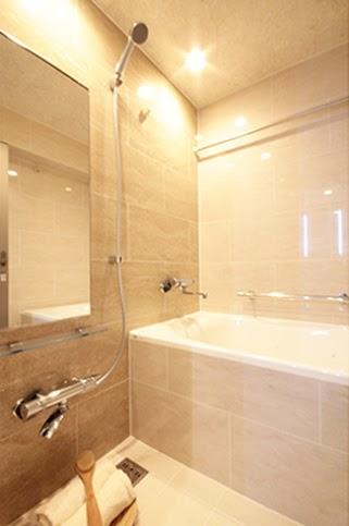 浴室、バスルーム、タイル、マンションリノベーション、リノステージ