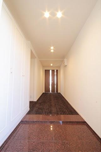 廊下、カーペット、間口、広い、ドア、LDK、リノステージ