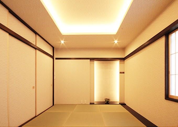漆調、粋床、縁無し、畳、和モダン、和室、リノステージ
