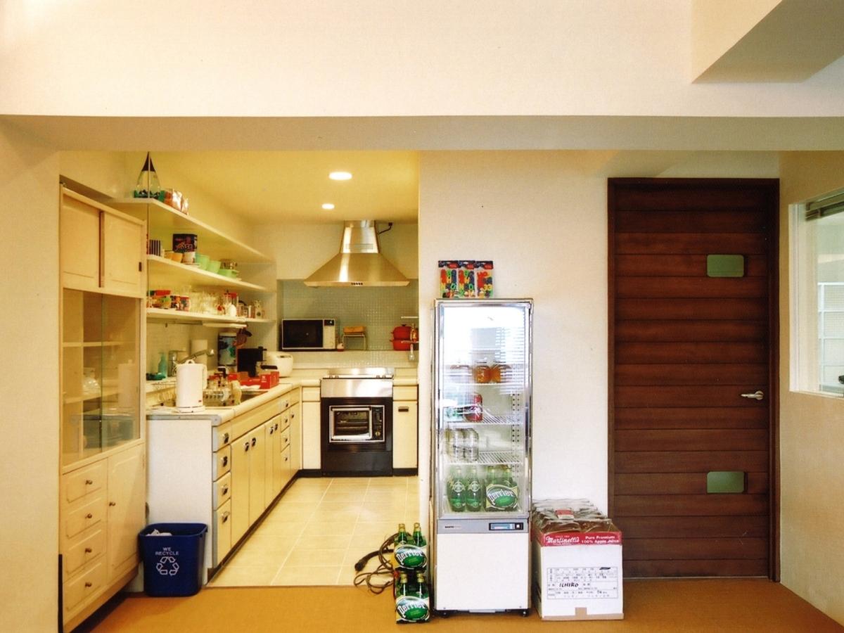 タイル、床、キッチン、台所、エキップ