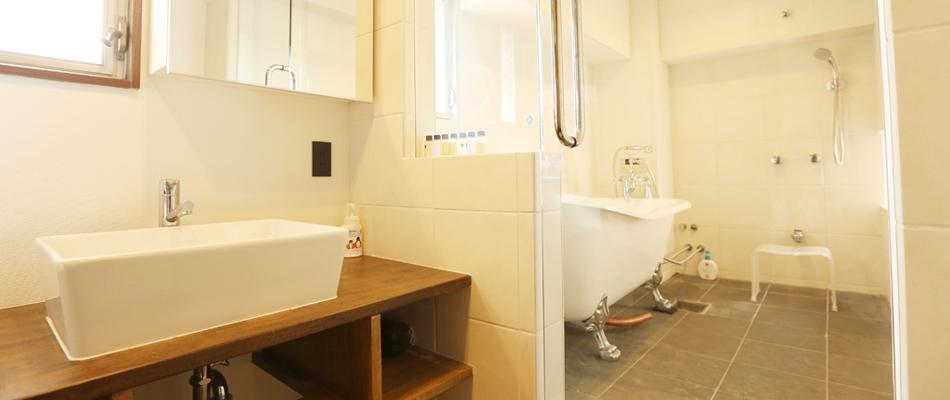 浴室、バスルーム、ガラス、仕切り、タイル、クラボ、kulabo