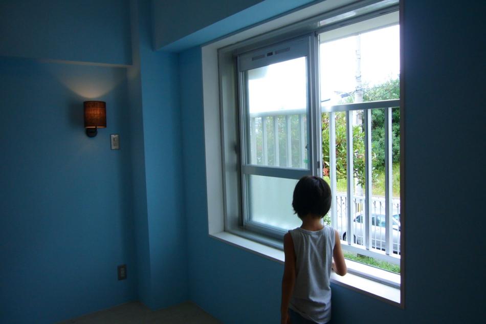 窓、壁塗装、子育て、団地、リフォーム、リノベーション、ナイン