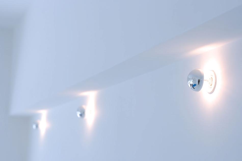 証明、間接照明、リビング、団地リノベーション、リフォーム、9、ナインデザイン