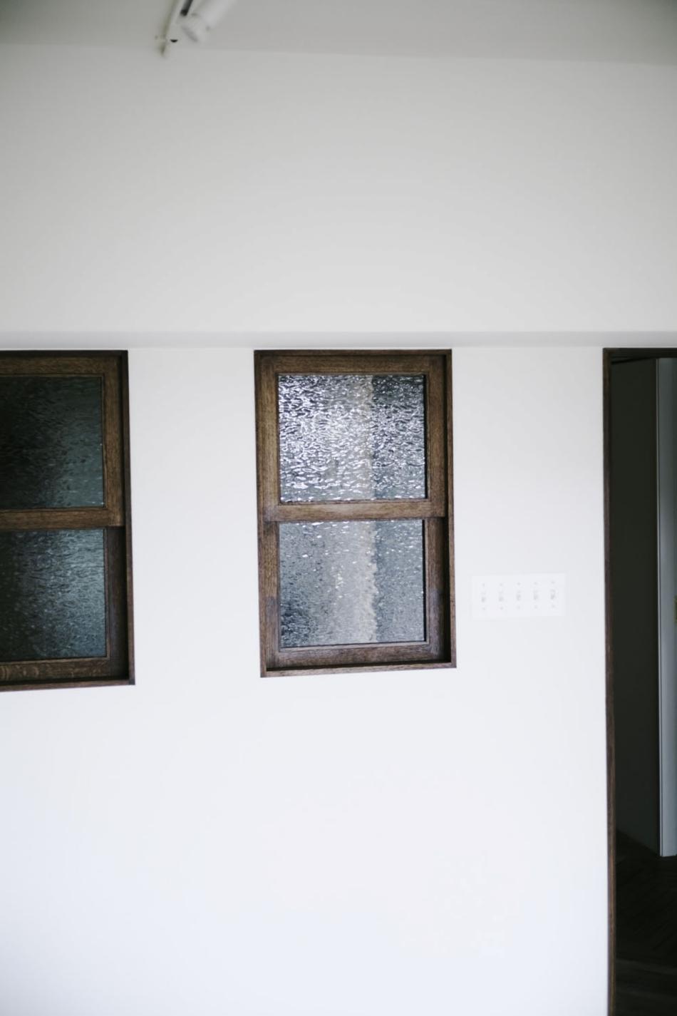 木枠、室内窓、ヴィンテージ、LDK、寝室、ナイン、9