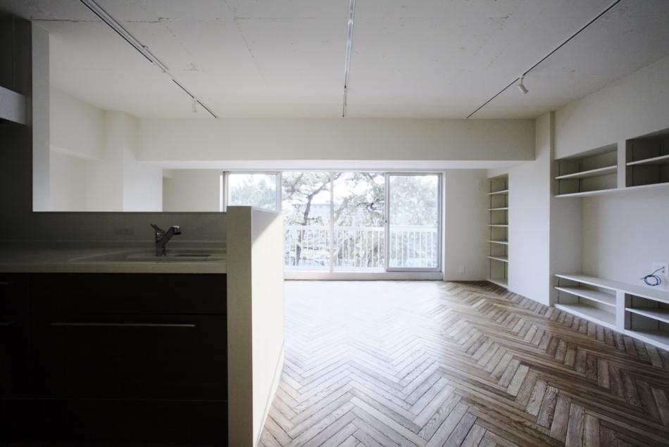 和室、間取、LDK、無垢材、フローリング、ヘリンボーン、ナイン、9