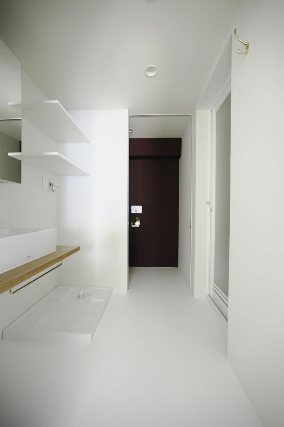洗面台、脱衣所、浴室、トイレ、引き戸、水回り、動線、ナイン、9