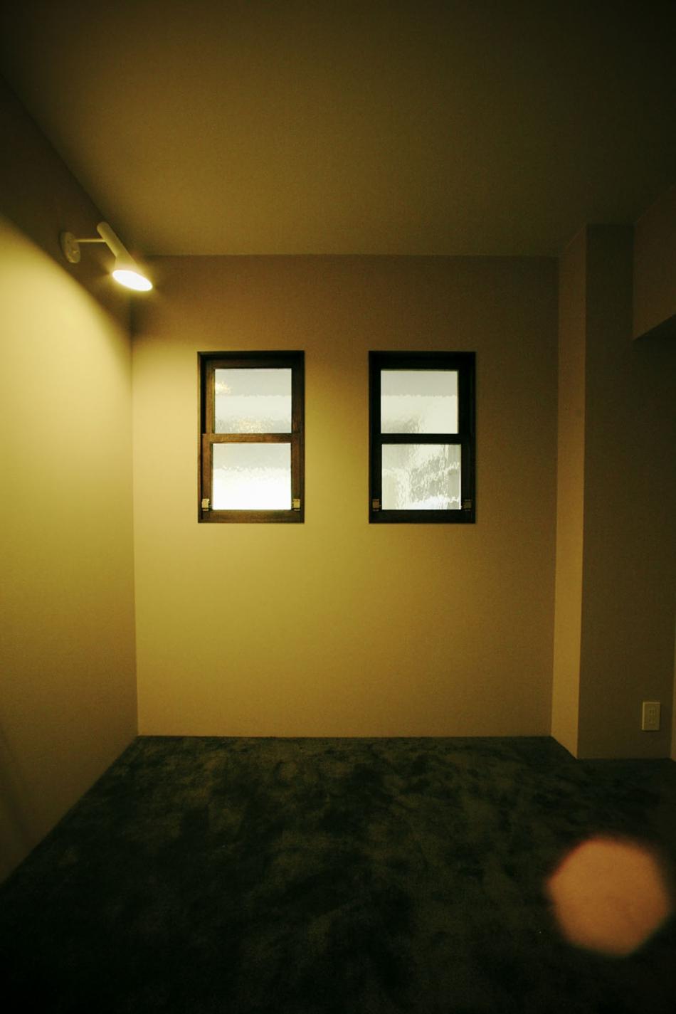 室内窓、寝室、ベッドルーム、採光、リノベーション、ナイン、9