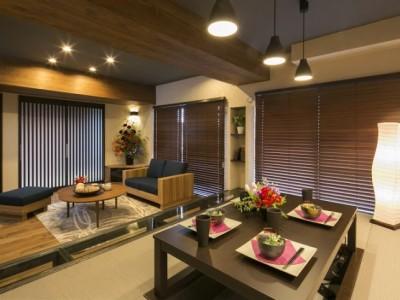 「RE住む(ベツダイ)」のマンションリノベーション事例「伝統を活かした洗練された和の空間」