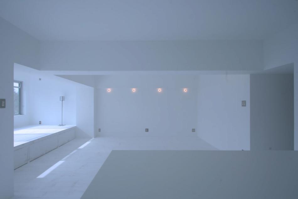「9株式会社」のリノベーション事例「まるで白い画用紙のよう。自由な空間が叶う家」