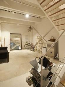 玄関、土間、階段、ビル、リノベーション、ナイン