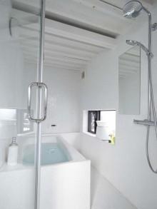丸型、タイル、浴室、バスルーム、通気性、リノベーション、9