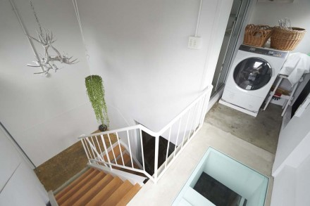 階段室、洗濯機、通気性、外部空間、屋上、リノベーション、9