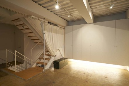 壁収納、間接照明、吊り、ビル、リノベーション、ナイン