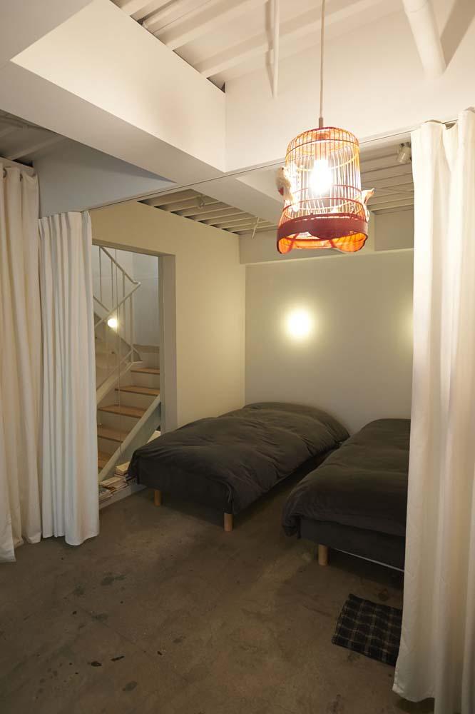 寝室、ベッド、子供部屋、ナイン