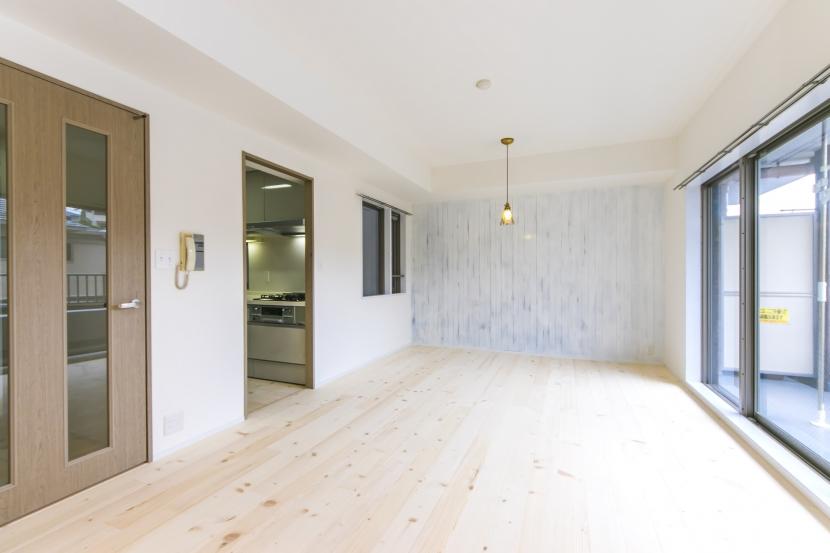 「リノベの一歩(株式会社 一歩)」のリノベーション事例「北欧+和のモダン住宅」