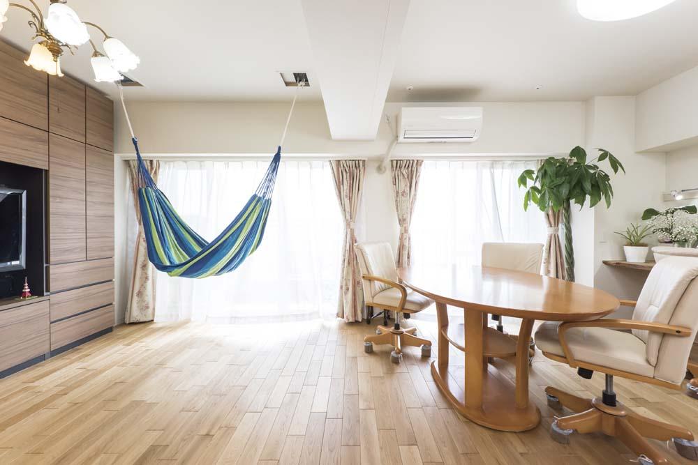 「リブラン」のリノベーション事例「光と風、自然素材の心地よさを楽しむ住まい」