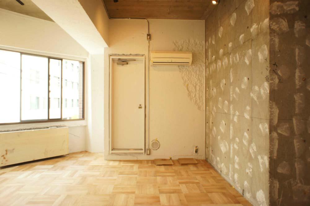 天井、壁面、コンクリ、マンション、東京リノベ、
