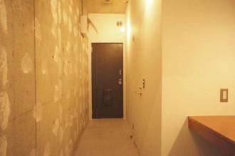 玄関、廊下、キッチン、洗面、水回り、マンション、都心、東京リノベ
