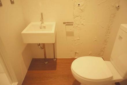 トイレ、洗面、化粧台、サニタリー、シャワールーム、都心、ワンルーム、マンションリノベーション