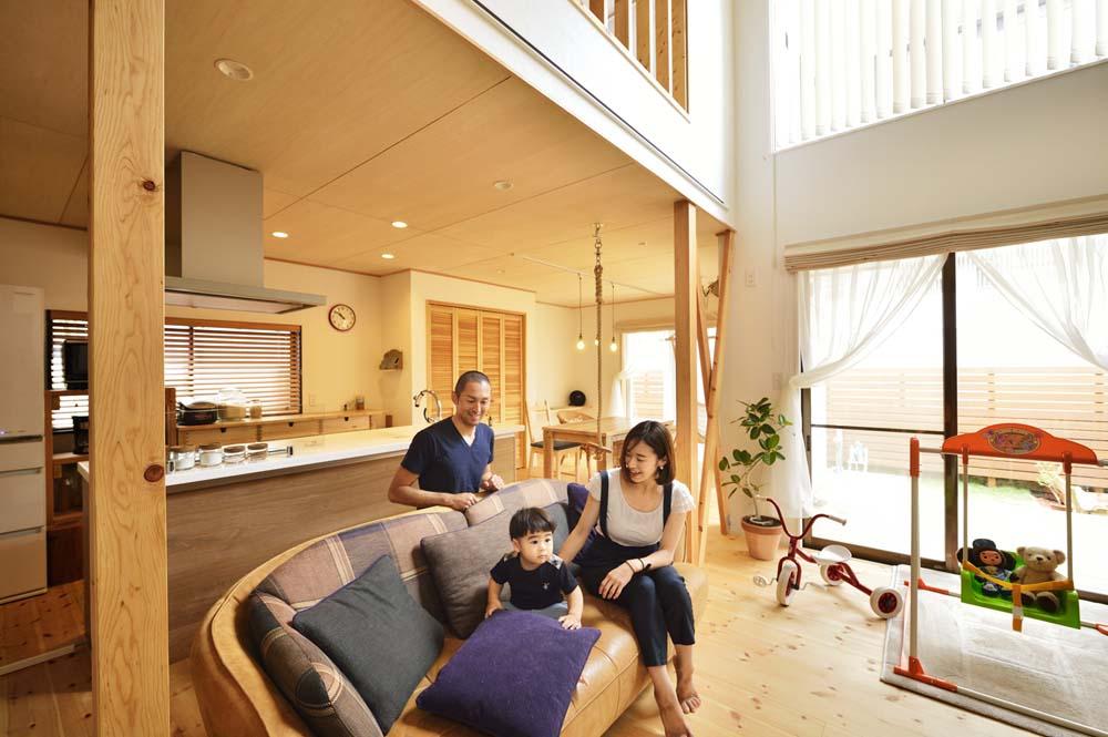 「スタイル工房」のリノベーション事例「庭付き2階建て住宅で子どもがのびのびと遊べる暮らし」
