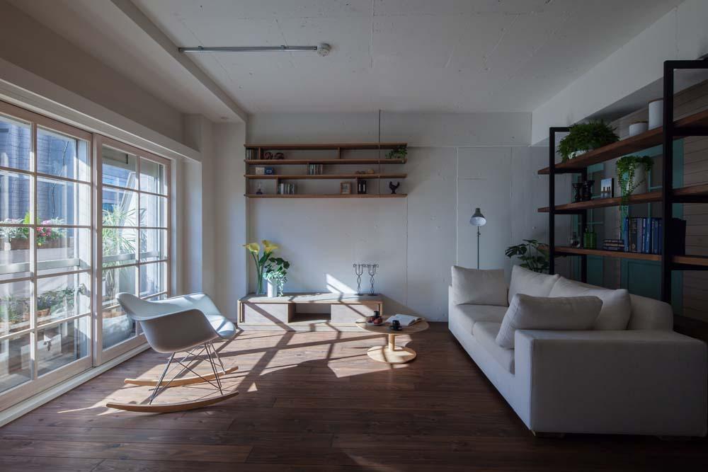 「リブラン」のリノベーション事例「自然素材に包まれた、住み心地のいい家」