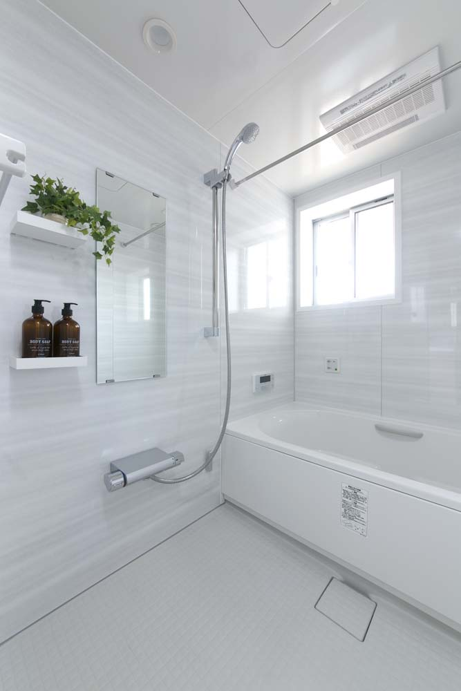 浴室、バスルーム、タイル、戸建、リノベ、RE住む、ベツダイ