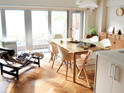 「インテリックス空間設計」のマンションリノベーション事例「ロングライフな住まい」