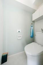 トイレ、フロアタイル、清潔感、収納、マンション、リノベーション