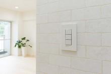 壁、アクセント、クロス、スイッチ、マンション、ブリックタイル、リノベーション、リノベの一歩