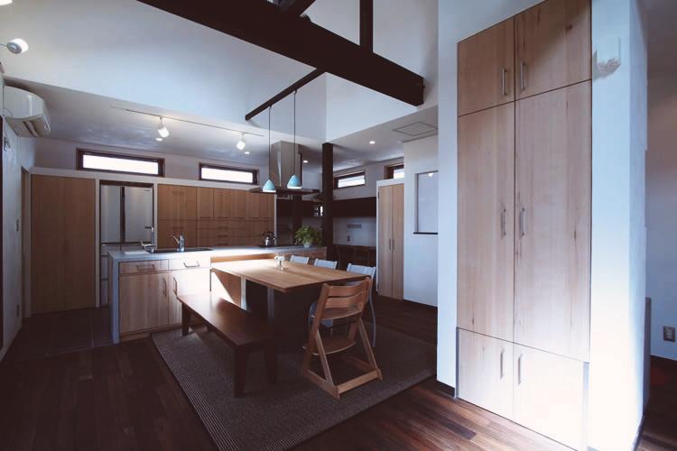 「総合建築職人会」のリノベーション事例「理想空間~やっぱり楽しい家がいい」