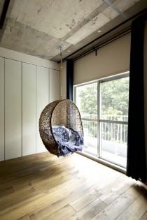 収納、クローゼット、窓際、ハンギングチェア、中古、マンション、スタイル工房