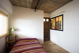 室内窓、子供部屋、個室、寝室t、ベッド、リノベーション、スタイル工房