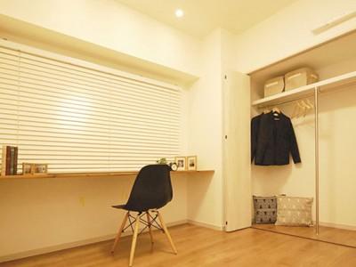 「リノステージ」のマンションリノベーション(SOHO)事例「SOHOを感じさせる都会的なデザイン空間」