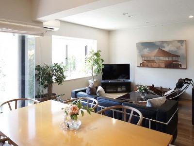 「三井のリフォーム(三井不動産リフォーム)」のマンションリノベーション事例「夫の母が長年住んだ低層マンションを 夫婦ふたりが暮らしやすい家に」