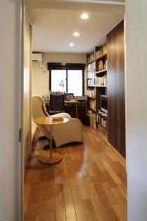 アトリエ、趣味部屋、夫、書斎、可動式、個室、共有スペース、三井のリフォーム