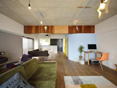 「スタイル工房」のリノベーション事例「築41年のマンションを「自分たちの色」で真新しく!」