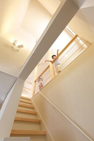 手すり、階段、吹き抜け、戸建、リノベーション、2階、プラスエム、アーキテクツ