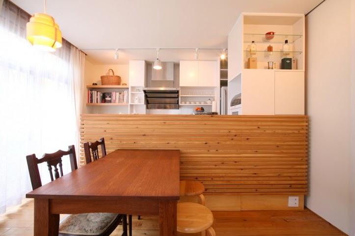 ダイニング、キッチン、収納、ニッチ、飾り棚、戸建、+Marchitects、プラスエム・アーキテクツ