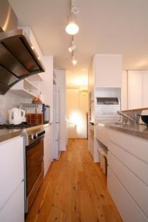 キッチン、動線、水回り、収納、2型、リノベーション
