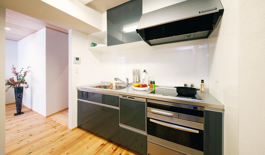 キッチン、台所、Ⅰ型、マンションリノベーション、水工房