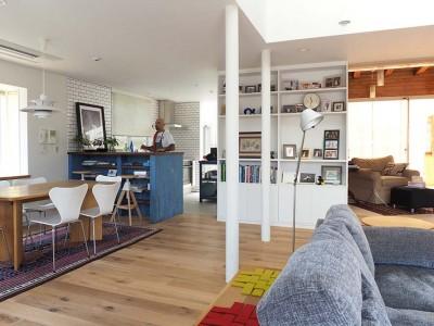 「株式会社 空間社」のリノベーション事例「のんびりと過ごせる週末の家」