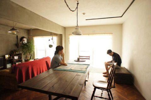 ダイニング、DIY、テーブル、食卓、自作、空間社